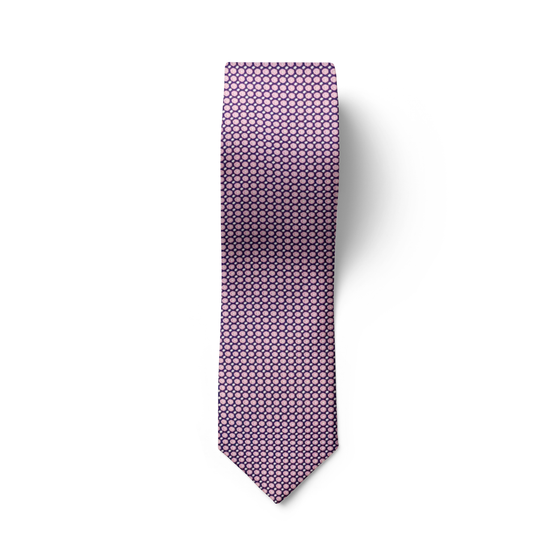 Purple Rose Tie