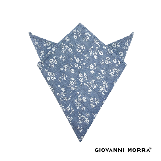 Flowery Pocket Square