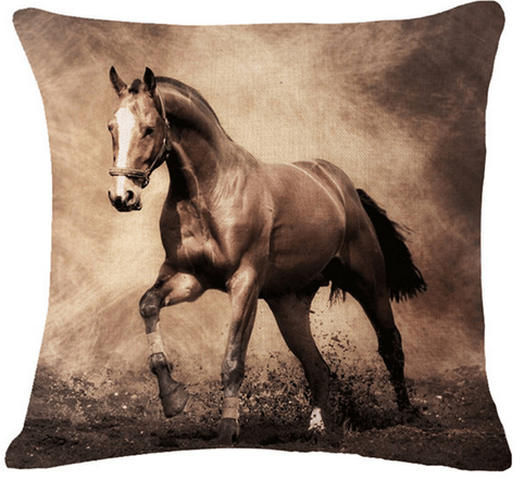 horse decor throw pillow covers - Horse Decor