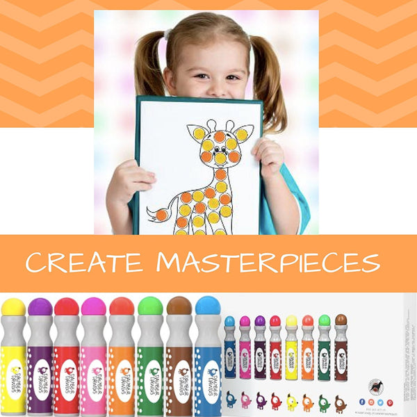 123 EDITION Dot Marker Activity Sheets