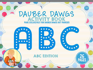 ABC EDITION Dot Marker Activity Sheets