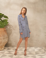 Camilla Shirt Stripe Print Dress
