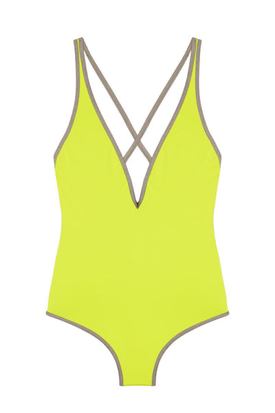 Yello One Piece Women's Bathing Suit