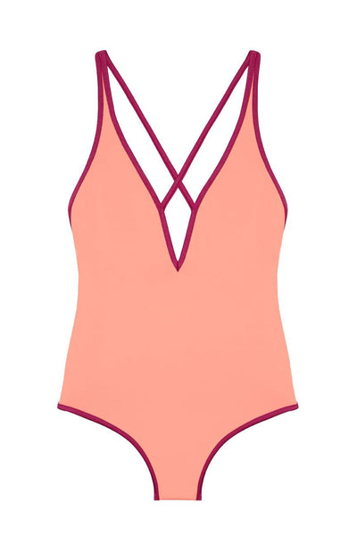 Pink Designer Women's Swimsuit