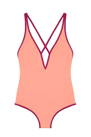Veronica One Piece Fuxia