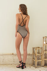 Ambra One Piece Swimsuit - Blu