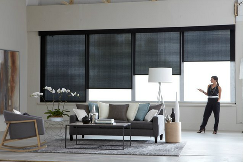 Voom window fashions roller shades residential