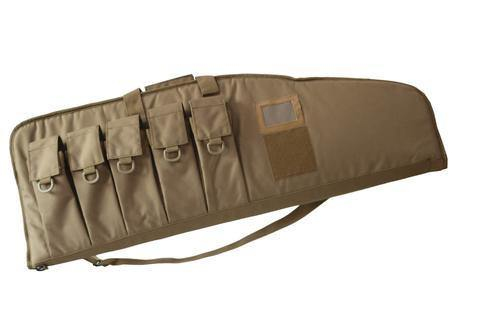 "38"" Tactical AR15/M4 Tactical Rifle Bag with Five Mag Pouches"