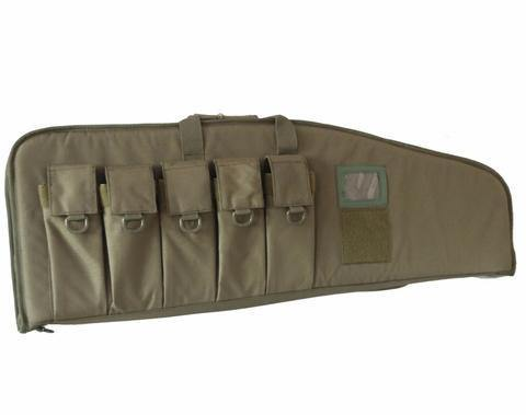 "42"" Tactical AR15/M4 Tactical Rifle Bag with Five Mag Pouches"