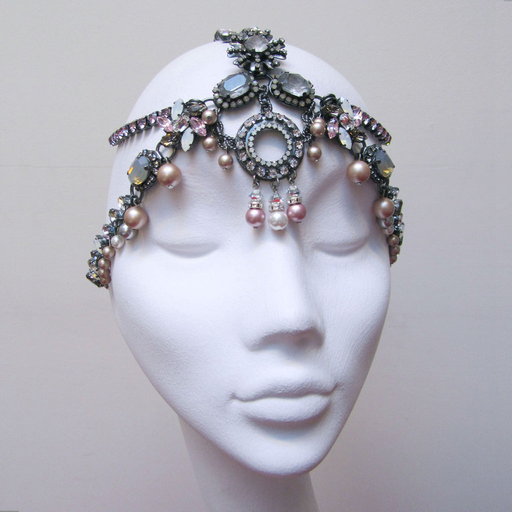 Angels Crystal Deco Head Piece