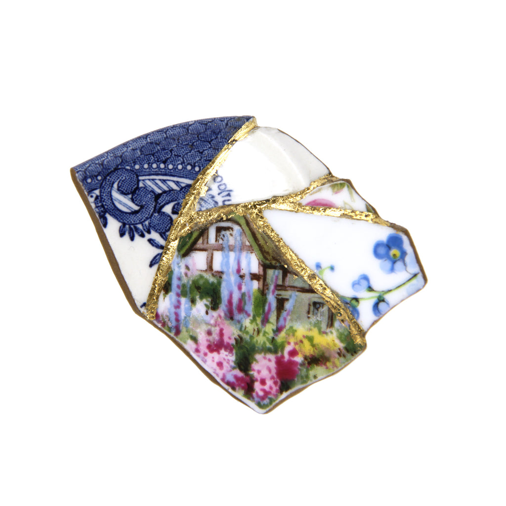 Preen by Thornton Bregazzi X VICKISARGE Floral Brooch