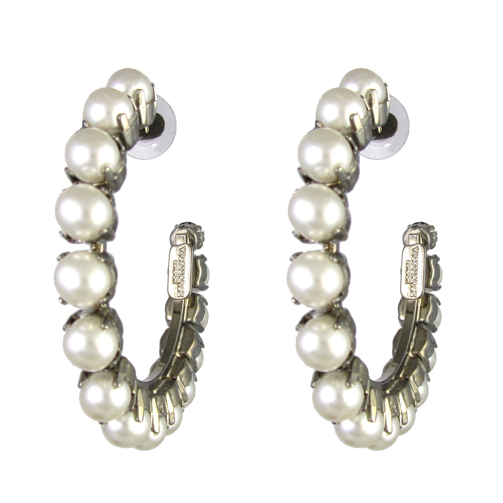 Essentially Vicki Pearl Hoops
