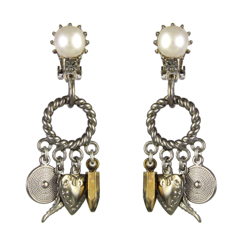 Essentially Vicki Charm Earrings