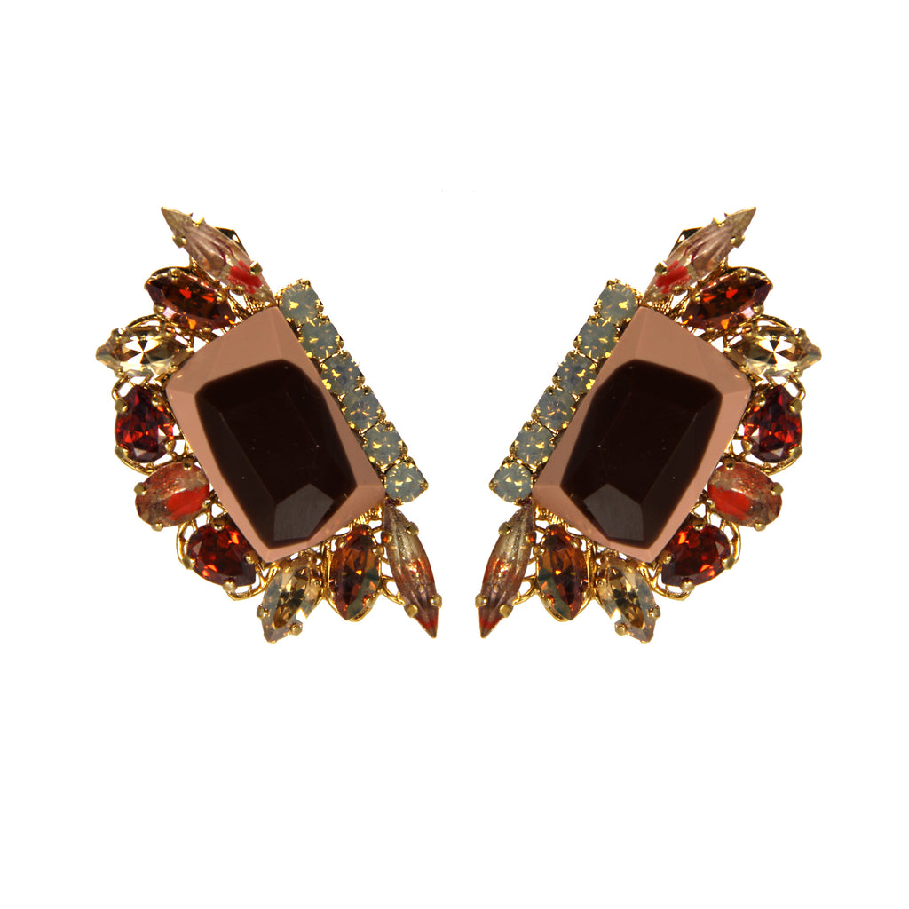 Earthly Delights Venetion Fan Earrings