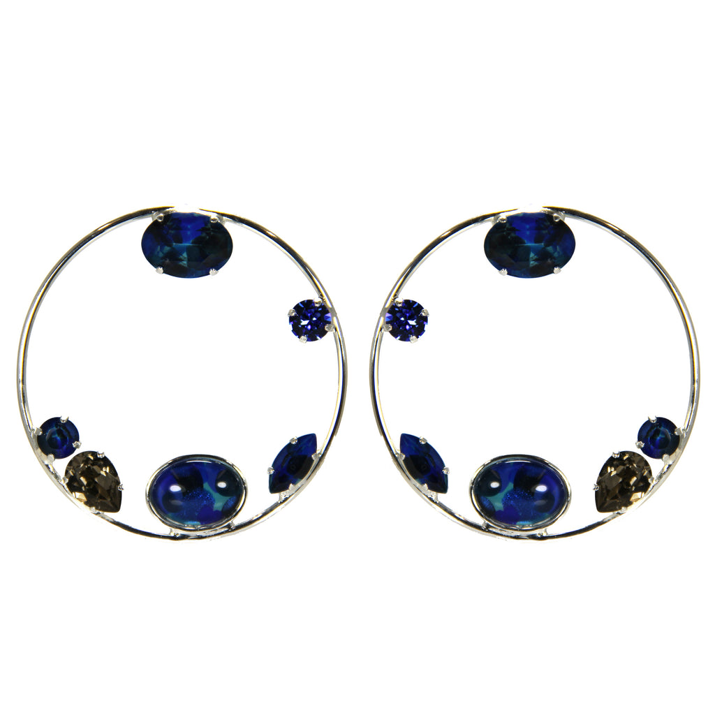 Earthly Delights Blue Hoops