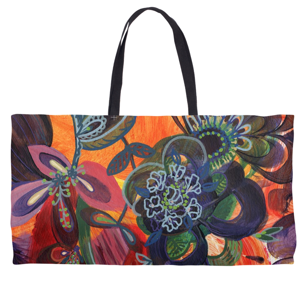Gratitude Weekender Tote - Something to Cherish - Gifts for life because life is a gift.