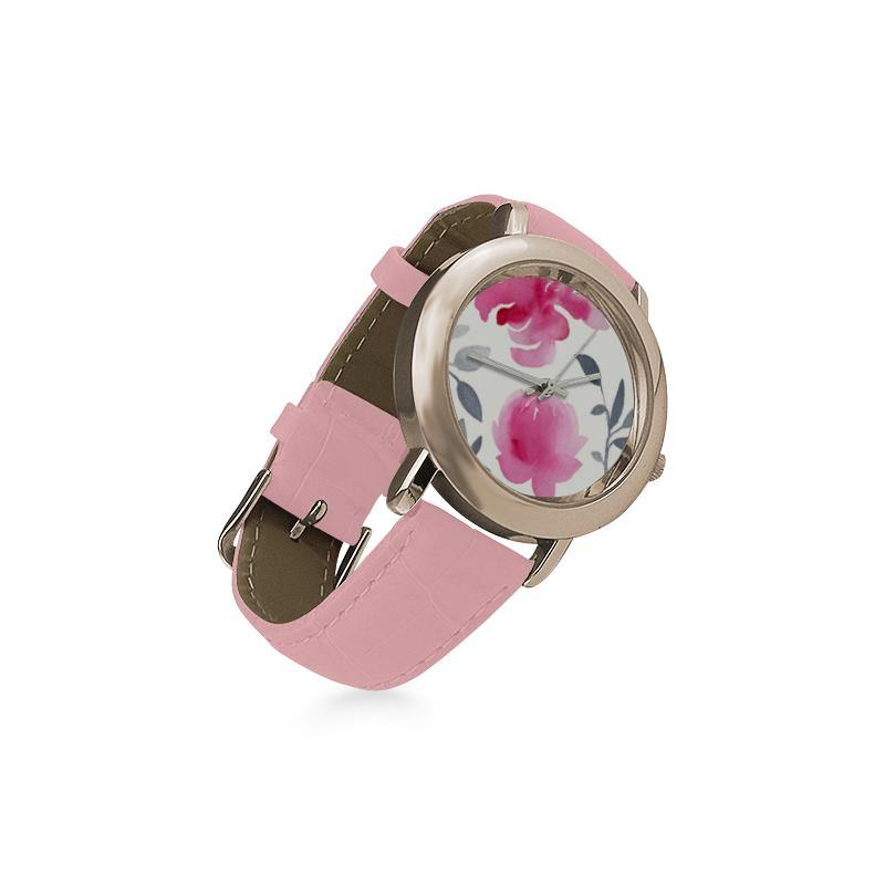 """Rose Water"" Wrist Watch with Millennial Pink Strap - Something to Cherish - Gifts for life because life is a gift."