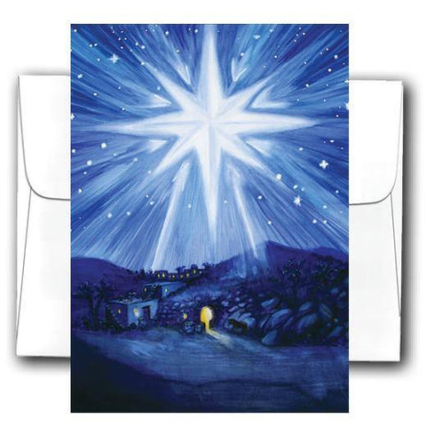 """Star Witness"" 10 Pack Christmas Cards - Something to Cherish"