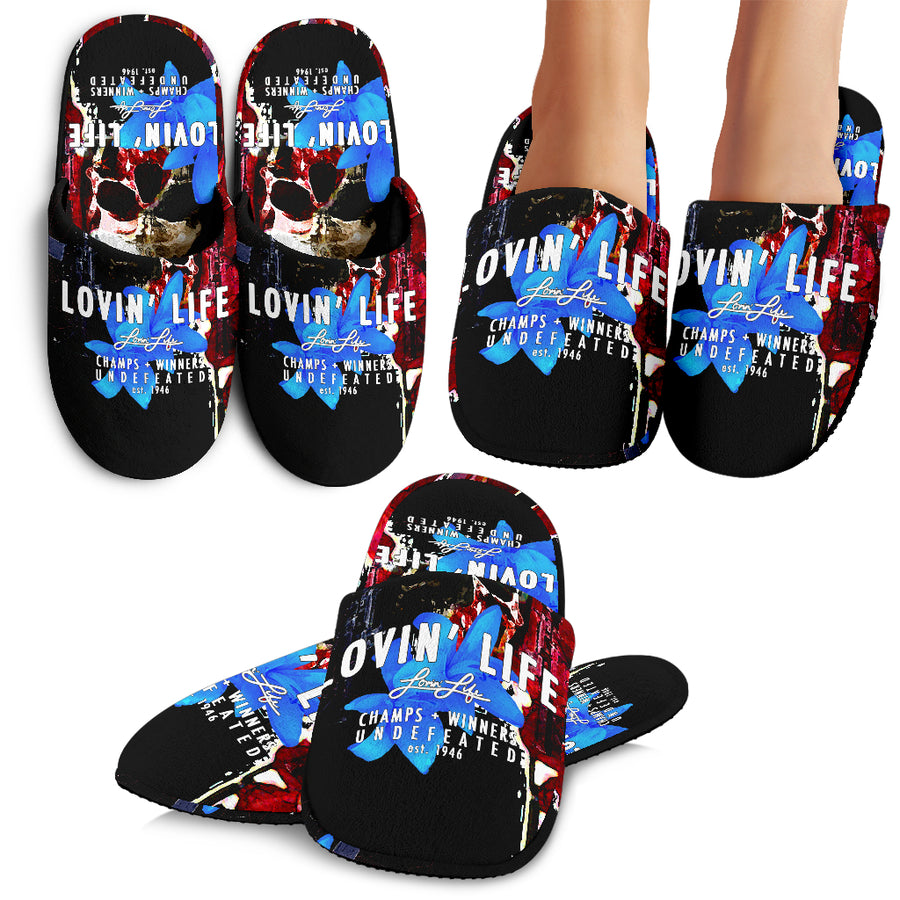 LOVIN' LIFE MEMBERS ONLY - DIVINITY CRES SLIPPERS