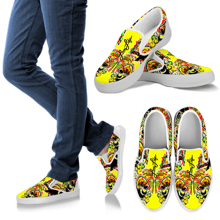 LOVIN' LIFE - #%* - SPAGE AGE COLLECTION - slip ons -men