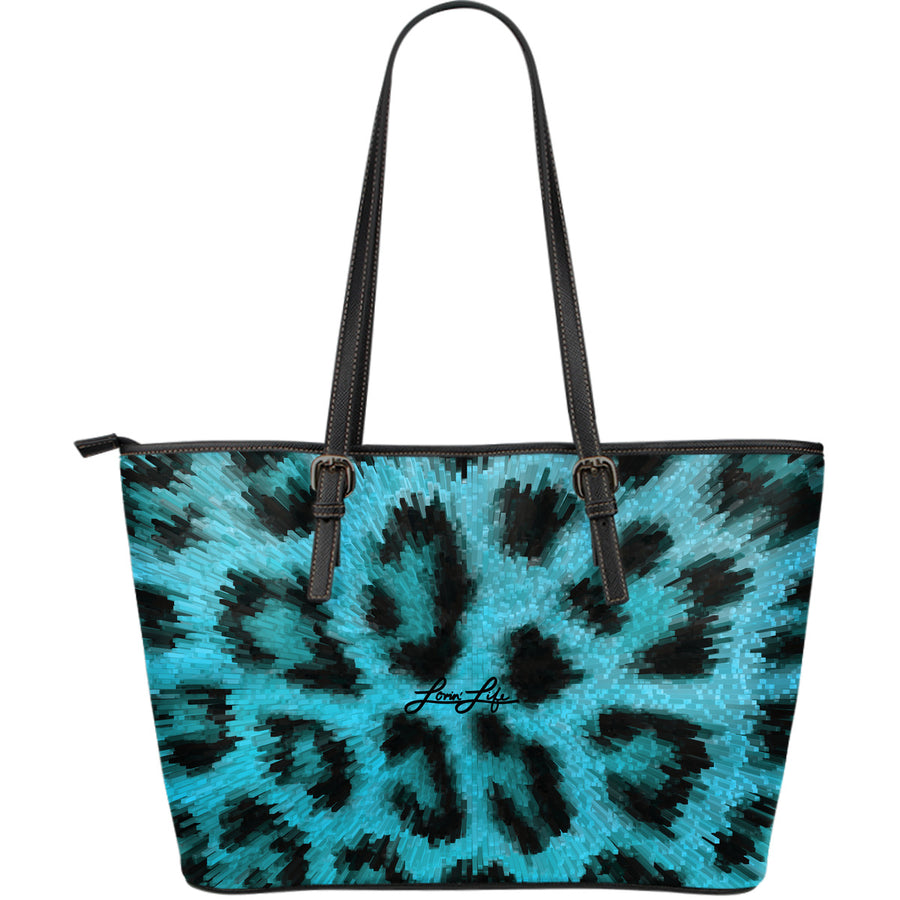 Lovin' Life twist Leather Tote Bag