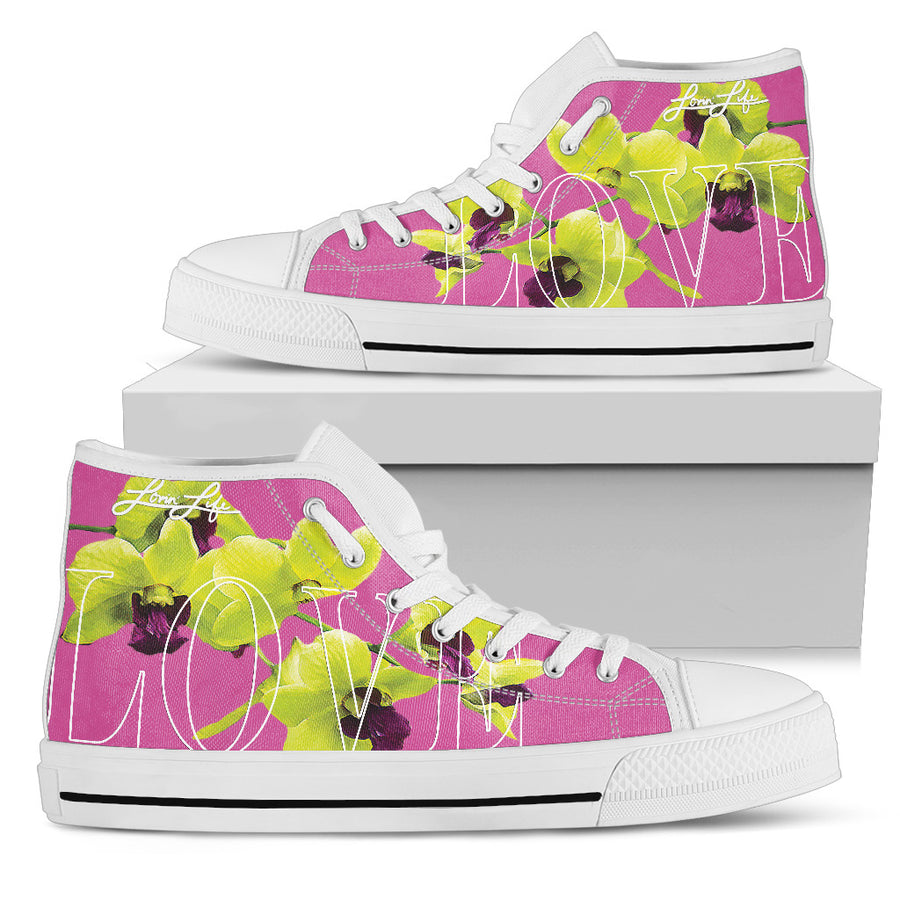 Men's - High Top orchid