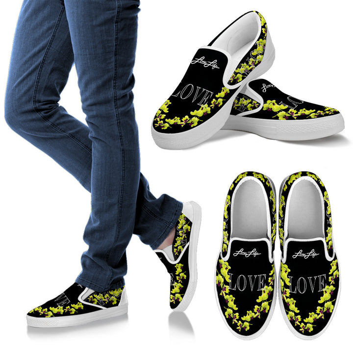 Women's - Orchid Slip Ons