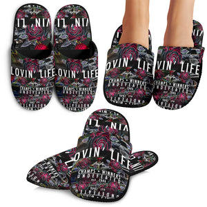 LOVIN' LIFE MEMBERS ONLY -Slippers