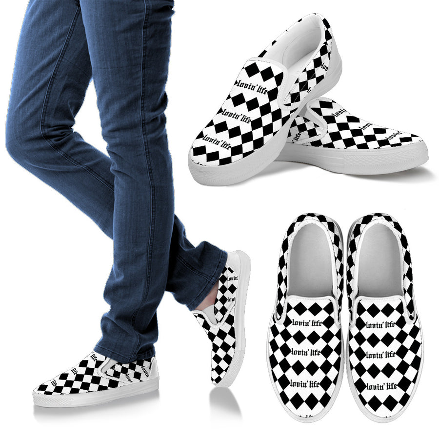 Men's - Lovin' Life Original box Slip Ons