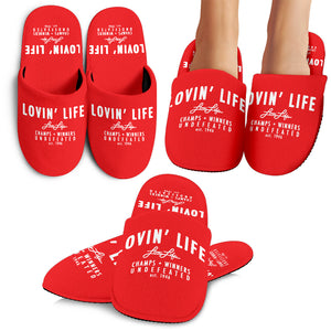 LOVIN' LIFE MEMBERS ONLY Classic slippers