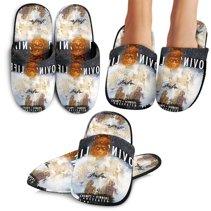 LOVIN' LIFE MEMBERS ONLY - ROYALTY SLIPPERS