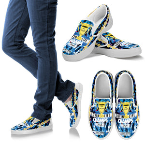 LOVIN' LIFE MEMBERS ONLY - CHAMPS RAZORS & CUBAN LINXS - SLIP ONS