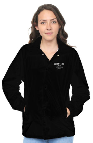 LOVIN' LIFE MEMBERS ONLY EMBROIDERED WOMEN'S JACKET