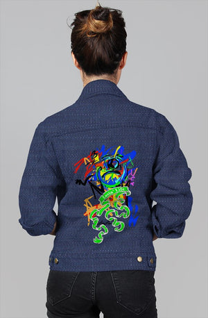 LOVIN' LIFE LL Ladies denim blue jacket