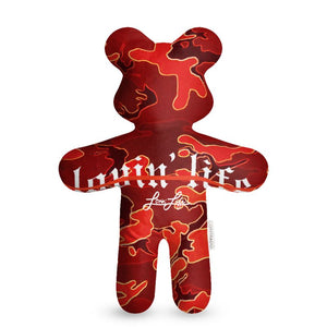 Camo Red Teddy Bear