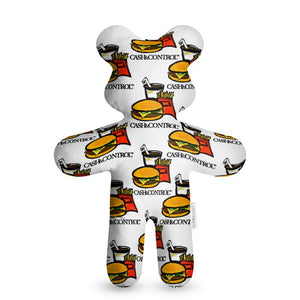 Burger Teddy Bear
