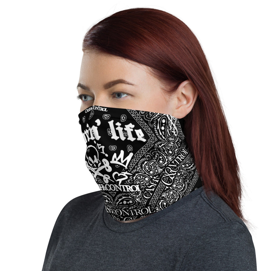 Cash&Control - FASK MASK & NECK GAITER - El Hefe Neck Gaiter Black