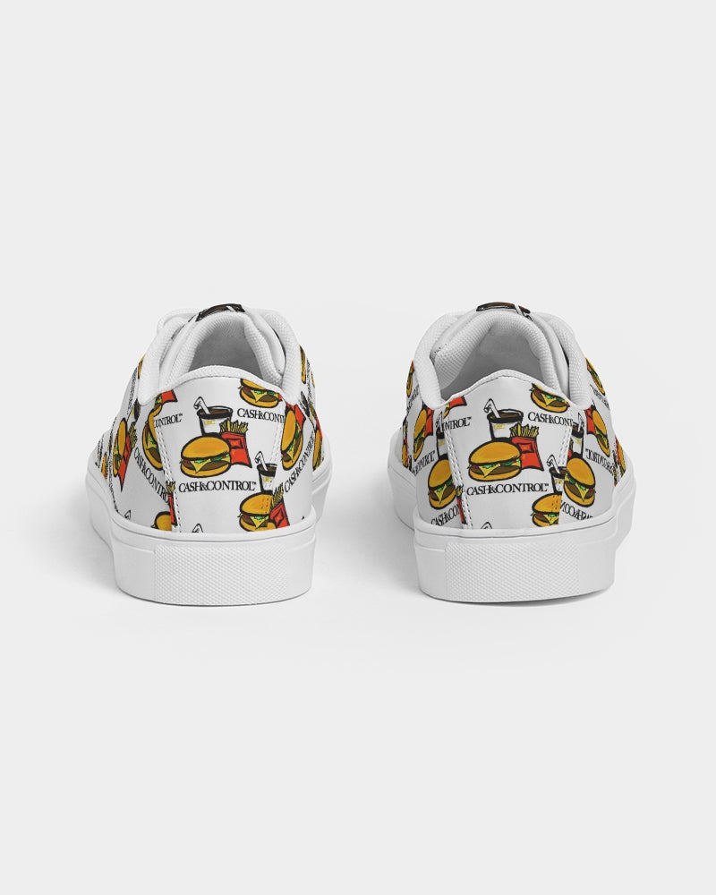 Burger Meal Women's Faux-Leather Sneaker