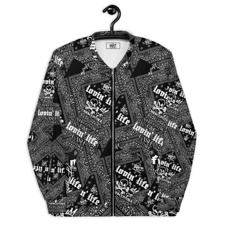 CASH&CONTROL JACKET EL HEFE BLAck (Cut & Sew)
