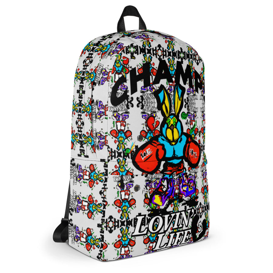 CHAMPS Laptop/Gym Backpack