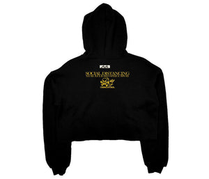 SOCIAL DISTANCING - Collection Crop Hoodie