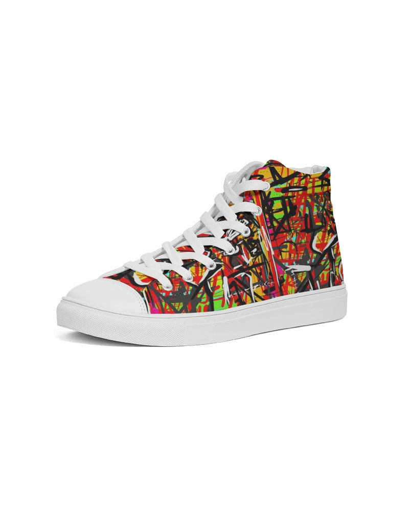 YA shoe Men's Hightop Canvas Shoe