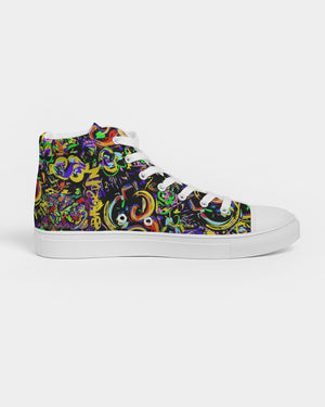 Bag run Women's Hightop Canvas Shoe