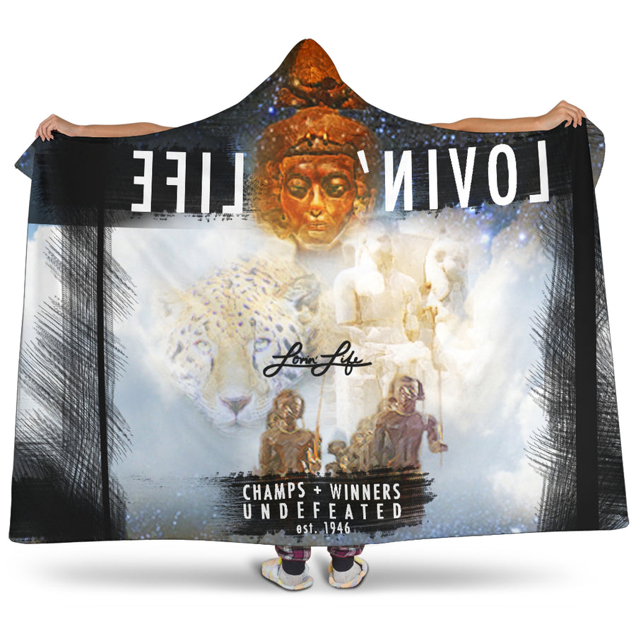 LOVIN' LIFE MEMBERS ONLY - ROYALTY Hooded Blanket