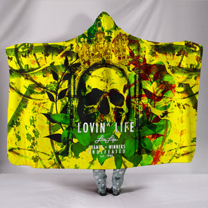 LOVIN' LIFE MEMBERS ONLY - DIVINITY CRES - 01 HOODED BLANKET