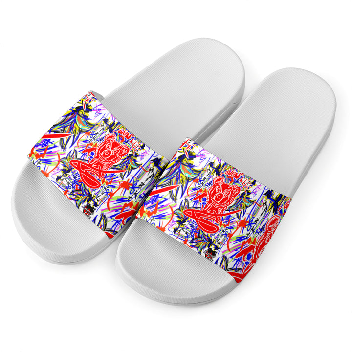 LOVIN' LIFE - BISCOTIO - ALL SMILES COLLECTION - slides -white
