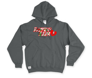 LOVIN' LIFE - BOUNCE BAC - HAVE HEART MONEY COLLECTION - hoodies