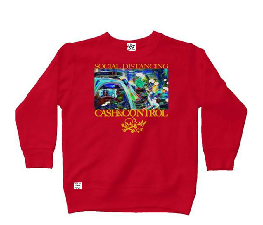 SOCIAL DISTANCING - Collection kids crew neck