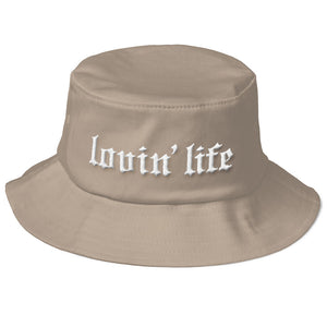 Original 3D embroidered Bucket Hat