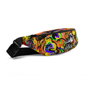 LOVIN' LIFE -BAG RUN 2 blu - SPACE COLLECTION - Fanny Pack